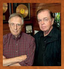 Rudy Van Gelder and Creed Taylor