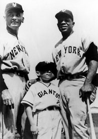Jeff Chandler Willie Mays Steve Khan