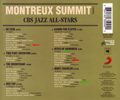 MONTREUX SUMMIT Vol. 2 Tray Card
